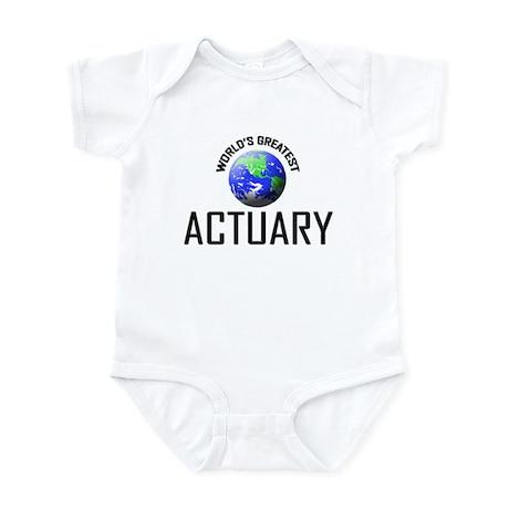 World's Greatest ACTUARY Infant Bodysuit