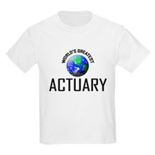 World's Greatest ACTUARY T-Shirt