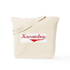 Kasandra Vintage (Red) Tote Bag