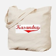 Kasandra Vintage (Red) Tote Bag