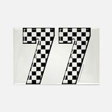 Automotive #77 Rectangle Magnet