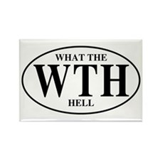 What the Hell Rectangle Magnet (10 pack)