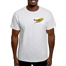 I Love Corndogs! Ash Grey T-Shirt