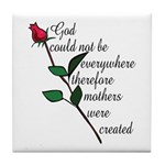 Mother's Day Flower Tile Coaster