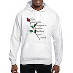 Mother's Day Flower Hooded Sweatshirt
