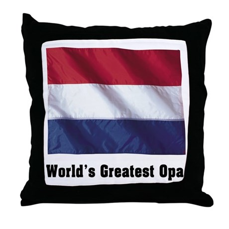 Greatest Opa Throw Pillow