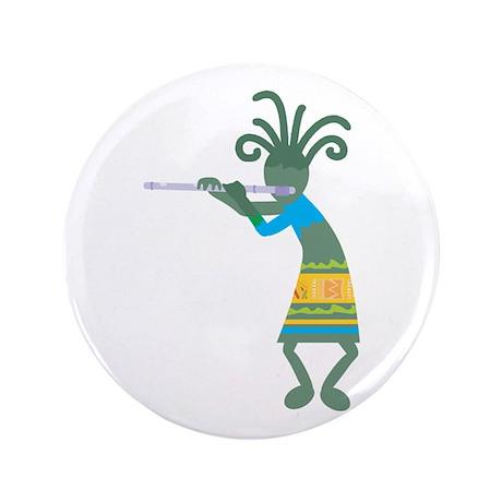 """Kokopelli 11 3.5"""" Button (100 pack)"""