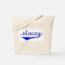 Macey Vintage (Blue) Tote Bag