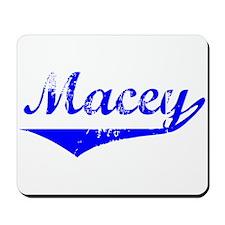 Macey Vintage (Blue) Mousepad