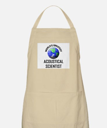 World's Greatest ACOUSTICAL SCIENTIST BBQ Apron