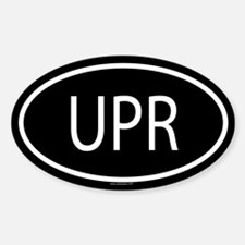 UPR Oval Decal