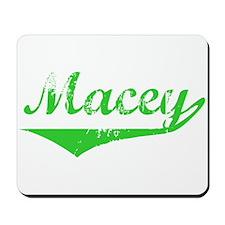 Macey Vintage (Green) Mousepad