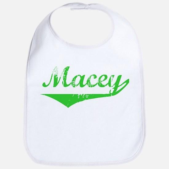 Macey Vintage (Green) Bib