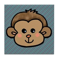 Monkey Face Tile Coaster