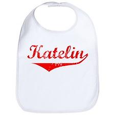 Katelin Vintage (Red) Bib