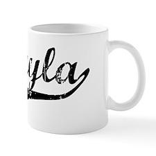 Mikayla Vintage (Black) Mug