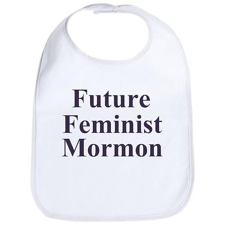 Future mormon feminist Baby Shower Gift Bib