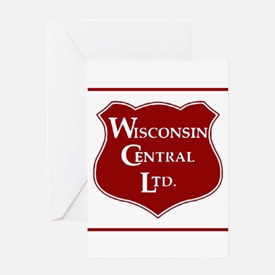 Wisconsin Central Railroad Greeting Cards