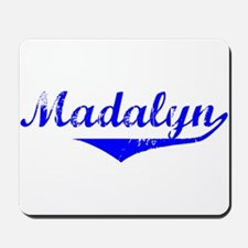 Madalyn Vintage (Blue) Mousepad