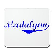 Madalynn Vintage (Blue) Mousepad