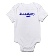 Madalynn Vintage (Blue) Infant Bodysuit