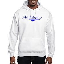 Madalynn Vintage (Blue) Hoodie