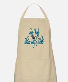Shower with a Soldier BBQ Apron