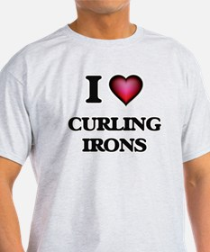 I love Curling Irons T-Shirt