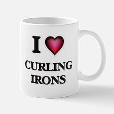 I love Curling Irons Mugs