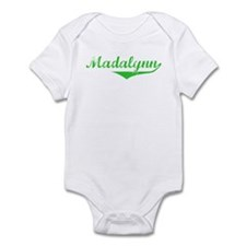 Madalynn Vintage (Green) Infant Bodysuit