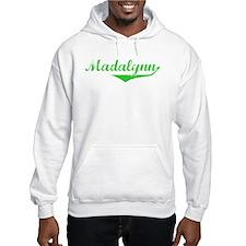 Madalynn Vintage (Green) Hoodie