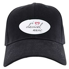 i love classical music Baseball Hat