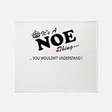 Cute Noe Throw Blanket