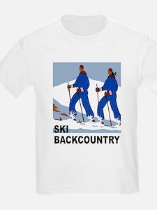 Ski Backcountry Skiing T-Shirt