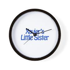 Xavier's Little Sister Wall Clock