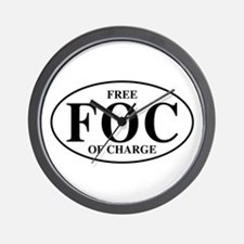 Free Of Charge Wall Clock