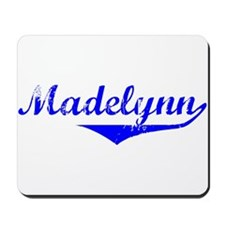 Madelynn Vintage (Blue) Mousepad