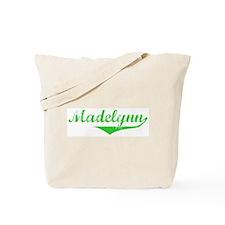 Madelynn Vintage (Green) Tote Bag