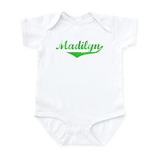 Madilyn Vintage (Green) Infant Bodysuit