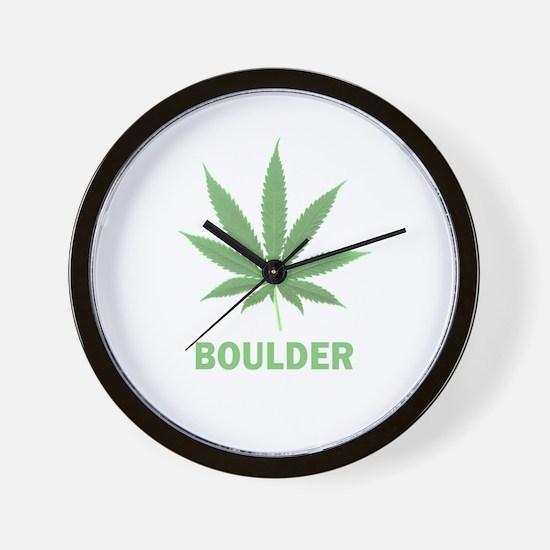 Boulder, Colorado Wall Clock