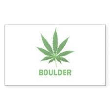 Boulder, Colorado Rectangle Decal