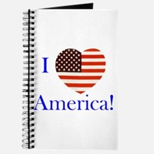 I Love America! Journal
