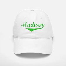 Madisen Vintage (Green) Baseball Baseball Cap