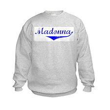 Madonna Vintage (Blue) Sweatshirt
