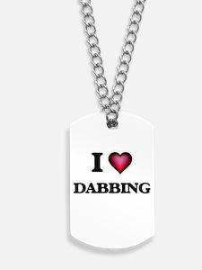 I love Dabbing Dog Tags