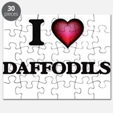 I love Daffodils Puzzle