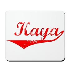Kaya Vintage (Red) Mousepad