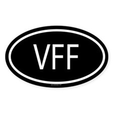 VFF Oval Decal