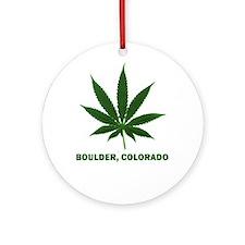 Boulder, Colorado Ornament (Round)