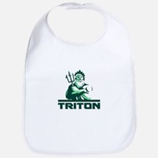 Triton Arms Crossed Trident Front Retro Bib